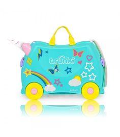 8763e0f57 Maletas divertidas y originales para niños con diseño de Unicornio Esta  maleta con 18 litros de