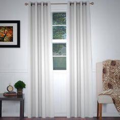 "Somerset Home Blackout Grommet Curtain Panel, 84"""