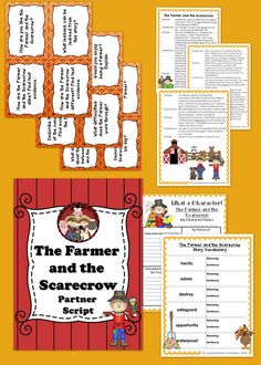 This three page partner script comes with a vocabulary page to practice with using context clues, questioning task cards (12 cards), and a comprehension page to work on character traits. This would work well to use in pairs during Read with Partner or Guided Reading time. Students will practice finding text evidence to make comparisons, analyze character traits and development, and story elements. 10 pages total.