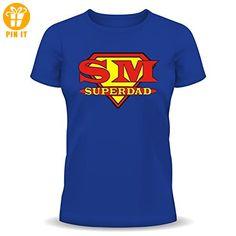 """FunTShirt """" Super Dad !!! """" Größen S - XXL M - T-Shirts mit Spruch   Lustige und coole T-Shirts   Funny T-Shirts (*Partner-Link)"""
