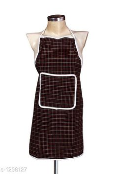 Aprons Beautiful Elite Colourful PolyesterApron Fabric: Polyester Size: 28 in x 19 In Description: It Has 1 Piece Of Apron Pattern: Checkered Sizes Available: Free Size *Proof of Safe Delivery! Click to know on Safety Standards of Delivery Partners- https://ltl.sh/y_nZrAV3  Catalog Rating: ★4 (5456)  Catalog Name: Free Mask Beautiful Elite Colorful Polyester Aprons CatalogID_165537 C129-SC1633 Code: 521-1298127-