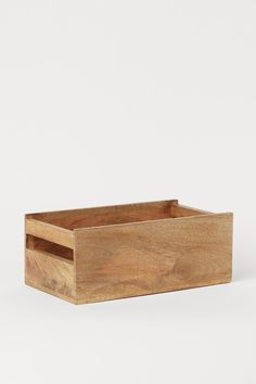 Wooden Storage Boxes, Wooden Boxes, Large Wooden Box, Home Interior Accessories, Office Shelf, H & M Home, H&m Gifts, Small Boxes, House In The Woods