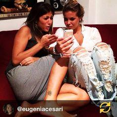 #CostanzaCaracciolo Costanza Caracciolo: RG @eugeniacesari: Situazioni importanti.❤️ @costy_caracciolo #noi#love#moltolove#semprevicine#racconti#adoro#momentinostri#happy #regramapp