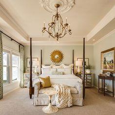 """923 Likes, 3 Comments - Bedroom Goals!  (@mybedroomgoals) on Instagram: """"Golden  Follow us for bedroom inspiration! - - - - - #home #dreamhome #bedroom #bedroomgoals…"""""""