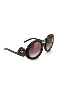 HauteLook | Wildfox Sunglasses & More: Women's Bianca Round Plastic Sunglasses