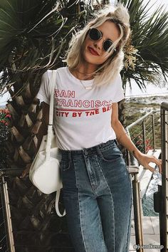 FOREVER 21 San Francisco Graphic Cropped Tee