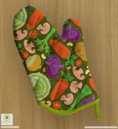 """""""Harvest Chowder"""" surface pattern design from UnBlink Studio by Jackie Tahara"""