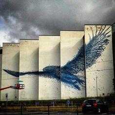 Street Art (Best of. 3d Street Art, Street Art News, Murals Street Art, Amazing Street Art, Street Artists, Amazing Art, Graffiti Art, Art Banksy, Best Graffiti