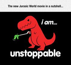 Funny pictures about Jurassic World. Oh, and cool pics about Jurassic World. Also, Jurassic World photos. T Rex Humor, T-shirt Humour, Hilarious, Funny T Rex, Funny Stuff, Funny Quotes, Funny Memes, Jokes, Dinosaurs