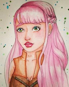 Pink lady by melnina34 on @DeviantArt