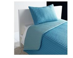 You are bidding forBrand NewIkea Bedspread and cushion Pillow cover Turquoise 180X280/40X65CM Quantity: Bedspread x1 Cushion Cover x1 Assembled size Bedspread length: 280 cm Bedspread width: 180 …