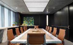 Modern Luxe Contemporary Office | Mim Design Creates Office for Landream | Yellowtrace