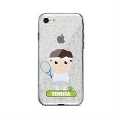 Case - El case del tenista, encuentra este producto en nuestra tienda online y personalízalo con un nombre o mensaje. Phone Cases, Store, Games, Messages, Phone Case