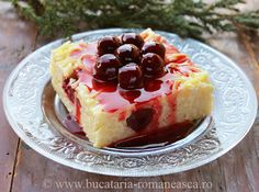 the best food culinary art Romanian Food, Yummy Food, Delicious Recipes, Culinary Arts, Cheesecake, Food And Drink, Sweets, Desserts, Kitchens