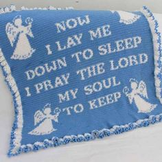 Maggie's Crochet · Prayer Afghan Crochet Pattern #crochet #afghan #pattern #religious #quotes #spiritual #prayer