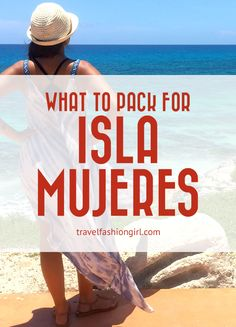 If you've never heard of Isla Mujeres in Mexico, you should add it to your radar! It's an island off Cancun and it's absolutely gorgeous. Learn more!