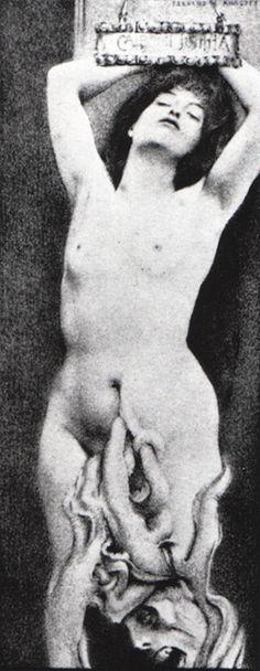 Fernand Khnopff, Istar, 1888.