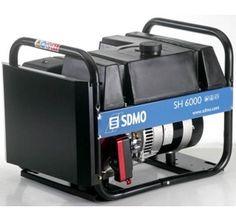 Groupe électrogène SDMO TECHNIC SH 6000 E essence 230V 6kW démarrage électrique Groupes, Tools, Portable Generator, Electric, Instruments