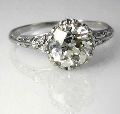 Gorgeous vintage wedding ring #vintagewedding