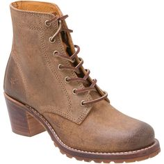 c3d5d0f68098 Frye Women s Sabrina 6G Lace Up High Heel Boot ( 298) ❤ liked on Polyvore