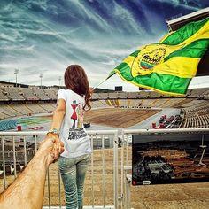 Follow Me To - photographer Murad Osmann had the pleasure of following his beautiful girlfriend all around the world