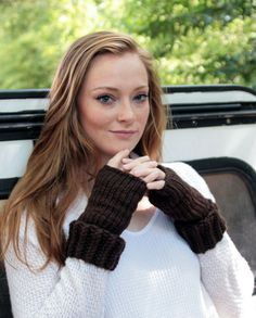 Texter friendly, fashion forward. Grab these wrist warmers for yourself or for a friend.
