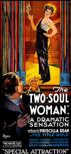 The Two-Soul Woman (1918), a lost film. Bizarre Los Angeles