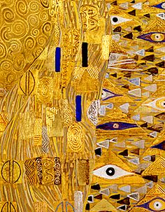 "Gustav Klimt ""Golden Phase"" detail from Judith I Portrait of Adele Bloch-Bauer I and The Kiss Gustav Klimt, Klimt Art, Art Nouveau, Art Graphique, Art Plastique, Painting Techniques, Oeuvre D'art, Les Oeuvres, Modern Art"