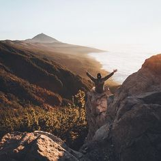 A while ago I went to Tenerife and shoot a series for #maliburum. I roadtripped around, hiked and climbed that mountain and got treated with views like this. #becausesummer #ad Adventure Awaits, Adventure Travel, Wanderlust, Adventurer, Lets Get Lost, Tenerife, Travel Photography, Nature Photography, Wilderness