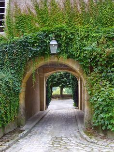 Private entrance driveway, cause I'd be totally famous and stuff and need one