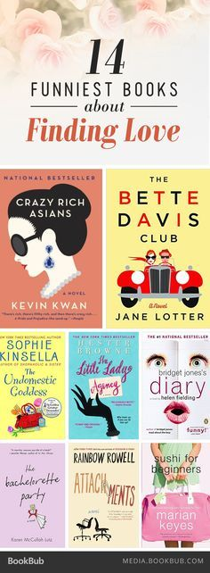 14 laugh-out-loud books about finding love, including Bridget Jones's Diary by Helen Fielding.