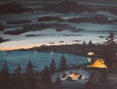 'September Skies' from THE MIDDLE OF NOWHERE, CANADIAN EDITION on Behance