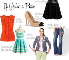 Dressing your Pear Shape