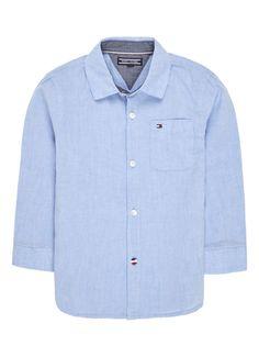 Op zoek naar Tommy Hilfiger Overhemd met denimlook en logoborduring ? Ma t/m za voor 22.00 uur besteld, morgen in huis door PostNL.Gratis retourneren.