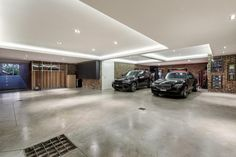 GLEN IRIS 15 Fairview Grove, Melbourne, Australia Underground Garage: 'An enormous 6-8 car basement garage incorporating games'