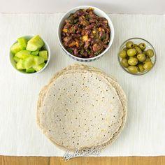 jednoskładnikowe naleśniki z samej gryki domowa tortilla