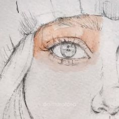 Art 321585229645117004 - Eye Tutorial Realistic Colored Drawing Stages Source by Watercolor Portrait Tutorial, Watercolor Portraits, Drawing Portraits, Drawing Sketches, Art Drawings, Illustration Art Drawing, Drawing Drawing, Art Du Croquis, L'art Du Portrait