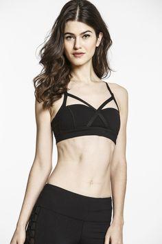 adjustable! and cute Yoga Bra, Yoga Fitness, Fitness Fashion, Bikinis, Swimwear, Active Wear, Cool Designs, Lingerie, Workout