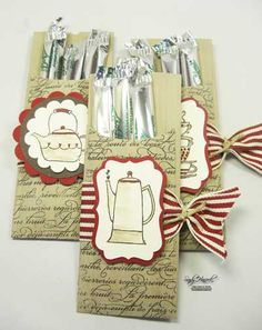 Petite Pocket Coffee Treat with Morning Cup stamp