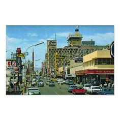 Las Vegas (Fremont Street 1950's)