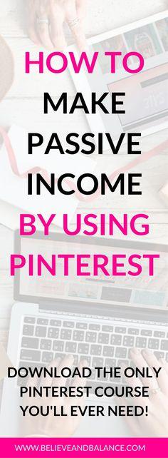 Make money with Pinterest.  Pinterest can make you money online. #pinterest #makemoney
