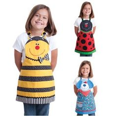 aprons for the kiddies http://media-cache7.pinterest.com/upload/18577417182990740_ZVWA6Nhm_f.jpg nancysalie sewing