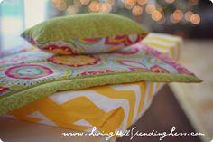 DiY American Girl Doll Bed & Quilt #DiY #AmericanGirl #Bed