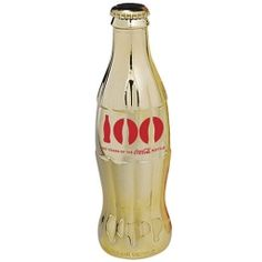 Celebrating 100 Years of the Coca-Cola Bottle Gold Plated 3rd Edition