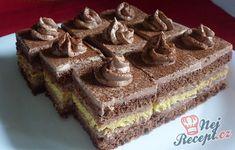 Parádní čokoládové řezy