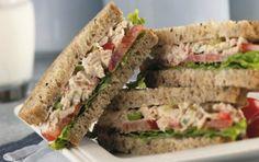 Tonijn sandwich. Video uitleg van Herman den Blijker: http://youtu.be/56Gropj54WM