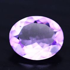 3.54 CT AAA! NATURAL! PINK BRAZIL AMETHYST OVAL Under The Surface, Natural Crystals, Brazil, Gem, Heart Ring, Amethyst, Jewelry Making, Stone, Rings
