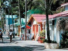 Caribbean Street, Riu Palace Bavaro Resort, Punta Cana, Dominican Republic