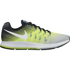 Nike Men s Air Zoom Pegasus 33 Running Shoes (Matte Silver White Volt  dfdda40592