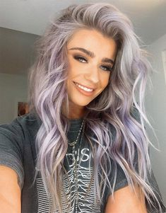Gorgeous Lavender Long Hairstyles for 2019 can find Lavender and more on our website.Gorgeous Lavender Long Hairstyles for 2019 Pretty Hairstyles, Hairstyle Ideas, Updos Hairstyle, Hair Ideas, Everyday Hairstyles, Wedding Hairstyles, Scene Hairstyles, Baddie Hairstyles, Simple Hairstyles